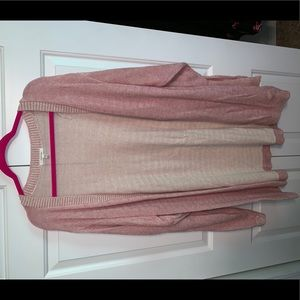 Size 3 pink Maurice's cardigan.